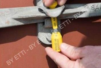 Sigilli a chiodo ISO 17712 2013 SKORPIO SEAL confezione da 500 pezzi x € 0,40 cad.
