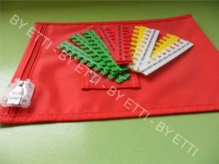 Borse di sicurezza riutilizzabili sigillabili ARNO confezione da 50 pezzi x € 9,50 cad.