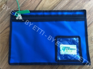 Borse di sicurezza sigillabili TAMIGI confezione da 10 pezzi per € 12,00 cad.