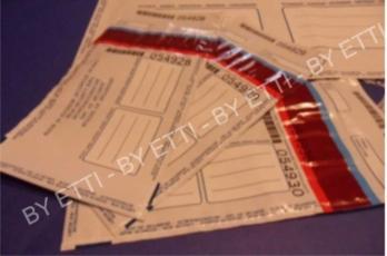 Buste di sicurezza numerate VOID con coupon GOBI 270x420mm+40mm confezione 500 pezzi per € 0,36 cad.