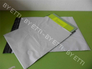 Buste di sicurezza monouso adesive misure  170x260mm+30mm confezione da 1000 pezzi per € 0,14 cad.