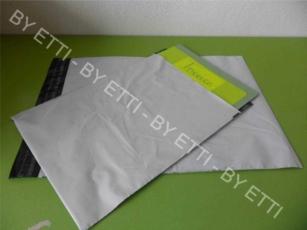 Buste di sicurezza monouso adesive misure  270x350mm+50mm confezione da 1000 pezzi per € 0,21 cad.