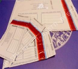 Buste di sicurezza numerate VOID con coupon GOBI 200x290mm+40mm confezione 250 pezzi per € 0,30 cad.