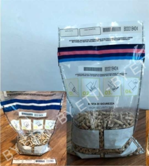 buste di sicurezza trasparenti void per cereali