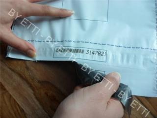 Buste di sicurezza monouso numerate con coupon 275x400+70mm confezione da 1000 pezzi per € 0,22 cad.