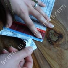 Buste di sicurezza numerate VOID con coupon GOBI 120x195mm+40mm confezione 1000 pezzi per € 0,19 cad.