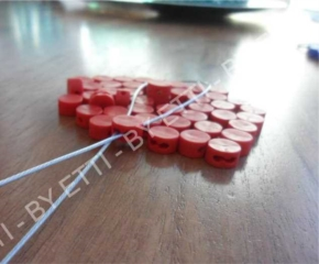 Piombi plastici Ecoplombex diam 10mm confezione da 5000 pezzi per € 9,00