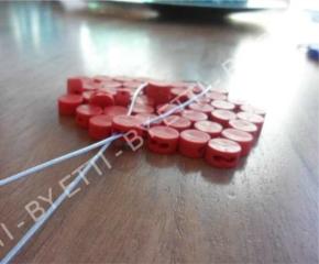 Piombi plastici Ecoplombex diam 10mm confezione da 20000 pezzi per € 6,50 al mille