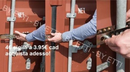 SIGILLI A BARRA BRIAREO DI ALTA SICUREZZA per euro 3,95 cad.