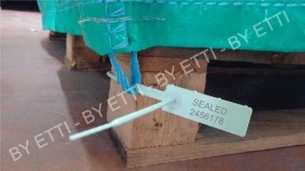 Sigilli in plastica regolabili MERCURIUS40 confezione da 300 pezzi x € 0,085 cad.