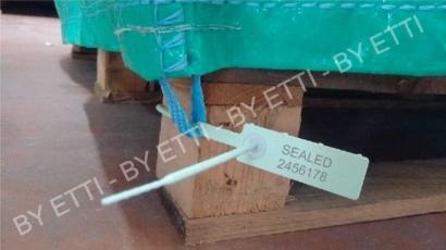 Sigilli in plastica regolabili MERCURIUS40 confezione da 1000 pezzi x € 0,06 cad.