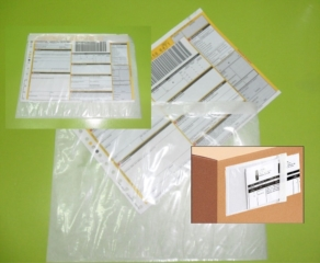 Accessori | Buste adesive porta packing list  | Buste adesive Packing List Standard